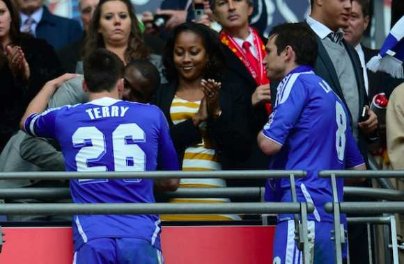 Photo : John Terry, l'âme sensible