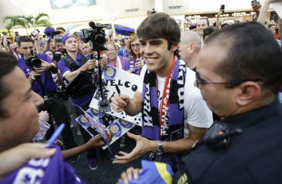 Photo : Kaká bien arrivé à Orlando