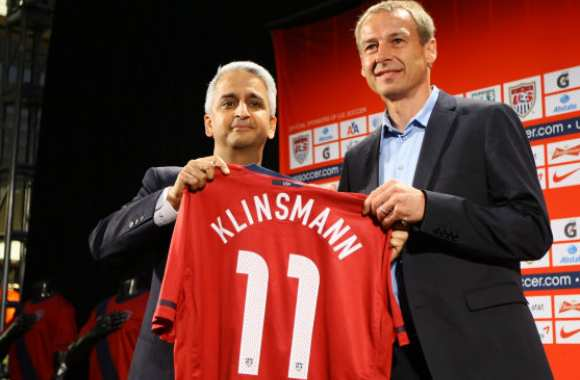 Photo : Klinsmann aux USA