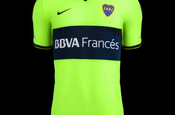 Photo : L'étrange maillot de Boca Juniors