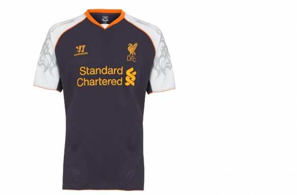 Photo : L'étrange maillot de Liverpool