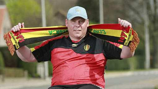 Photo : L'ultime volonté d'un supporter belge