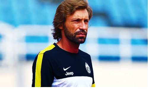 Photo : La barbe de Pirlo