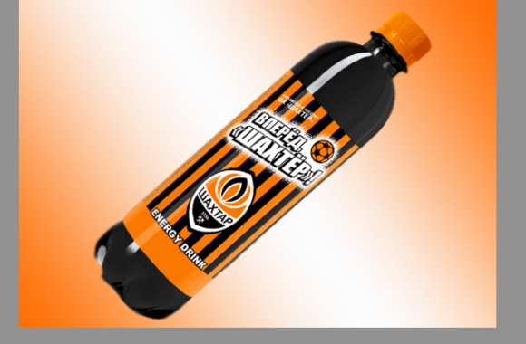 Photo : La boisson du Shakhtar Donetsk
