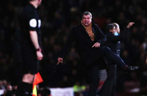 Photo : La danse de Sam Allardyce