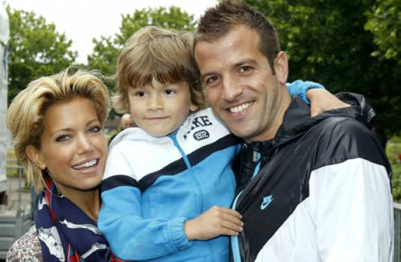 Photo : La famille Van der Vaart