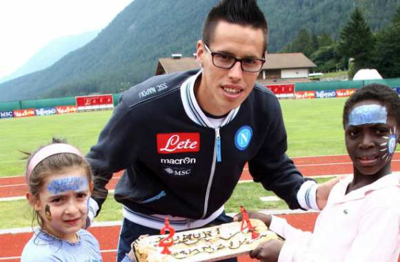 Photo : La gateau d'Hamsik