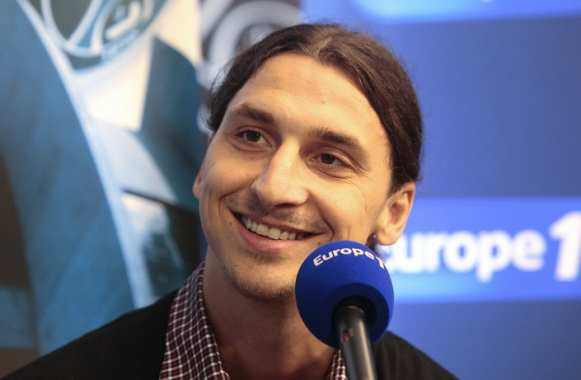 Photo : la gueule de Zlatan sur Europe 1