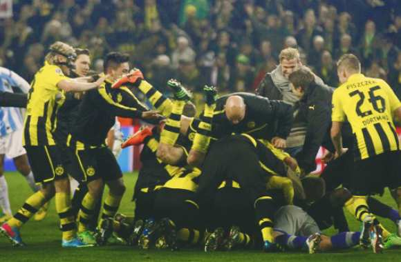 Photo: La joie de Dortmund