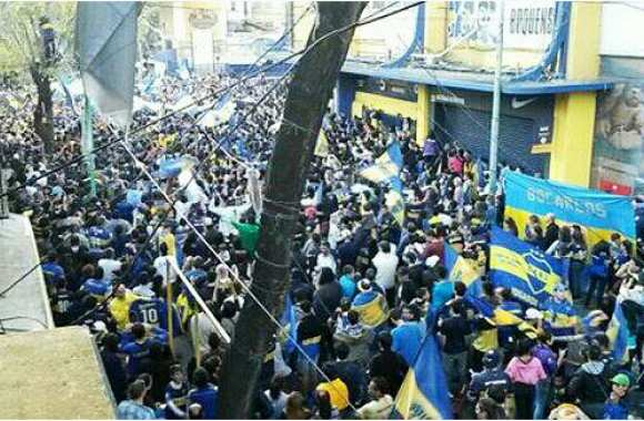 Photo : La manifestation pro-Riquelme