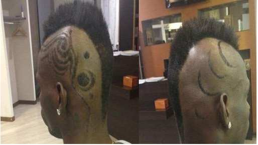 Photo : La nouvelle coupe de Balotelli
