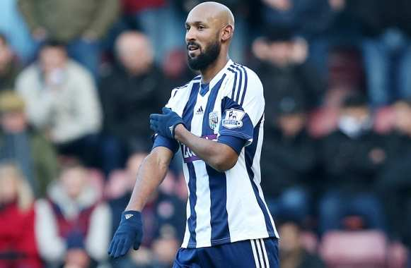 Photo: La « quenelle » d'Anelka