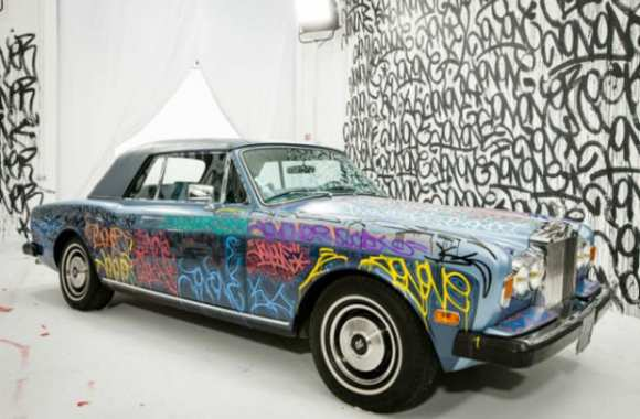 Photo : La Rolls Royce de Cantona