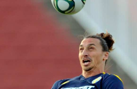 Photo : La sale face de Zlatan