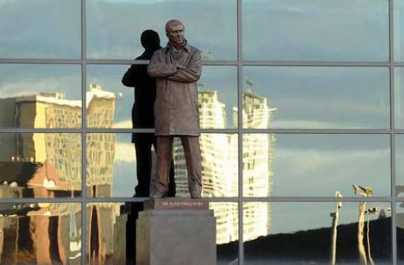 Photo : La statue Sir Alex Ferguson