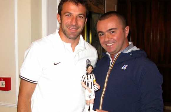 Photo : La statuette de Del Piero