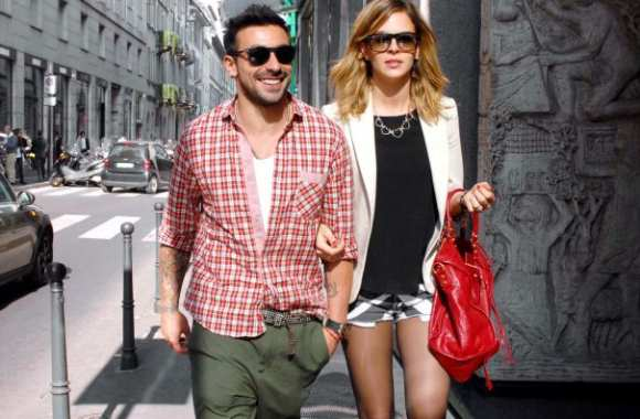 Photo : Lavezzi shopping