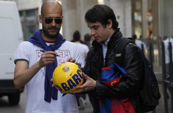 Photo : le Barça en mode shopping