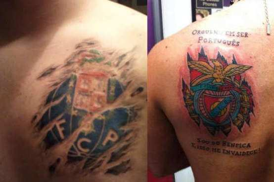 Photo : Le classico portugais en tatouages