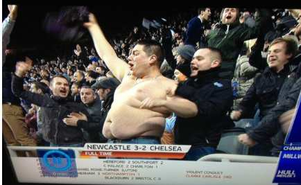 Photo: Le fatman de St James' Park