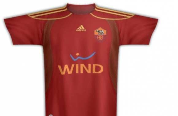 Photo : Le faux maillot de la Roma