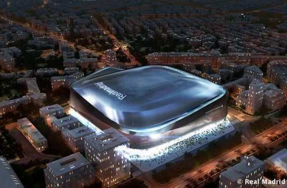 Photo : Le futur Bernabéu