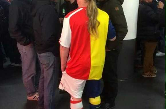 Photo : le kit d'Arsenal tout en un