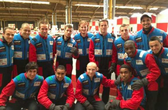 Photo : Le LOSC fait du kart