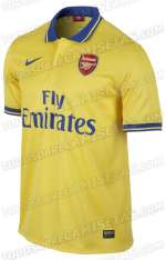 Photo : Le maillot away d'Arsenal