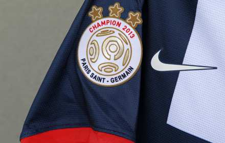 Photo : Le maillot de champion du PSG
