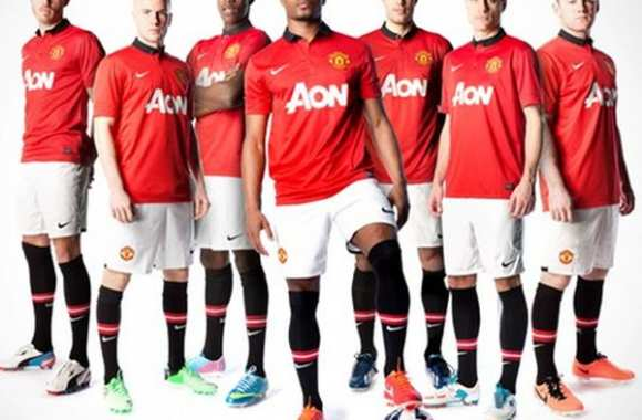 Photo: le maillot de ManUnited