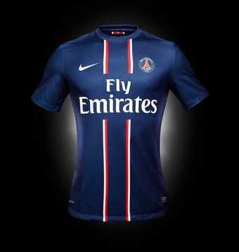 Photo : Le maillot du PSG 2012-13