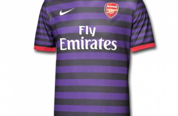 Photo : Le maillot extérieur d'Arsenal