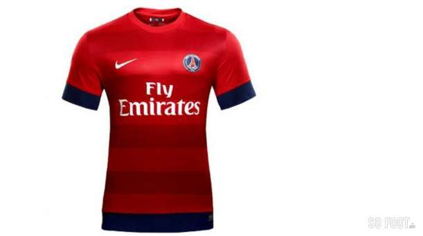 maillot de foot psg 2015 rouge troisi me pas cher floqu pour homme pictures to pin on pinterest. Black Bedroom Furniture Sets. Home Design Ideas