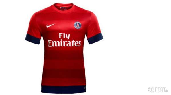 Photo le maillot ext rieur du psg for Maillot exterieur psg