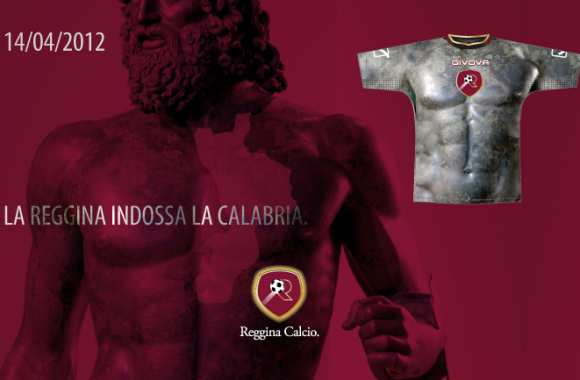 Photo : le maillot peau de la Reggina