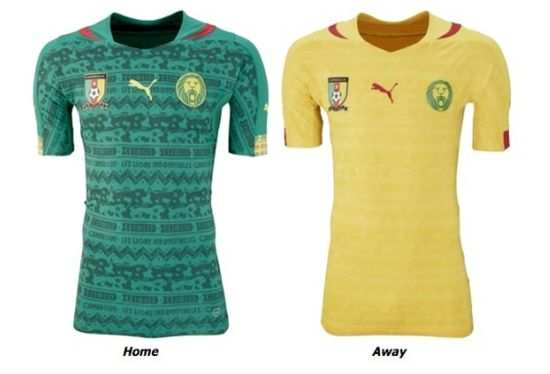 Photo : Le maillot raté du Cameroun
