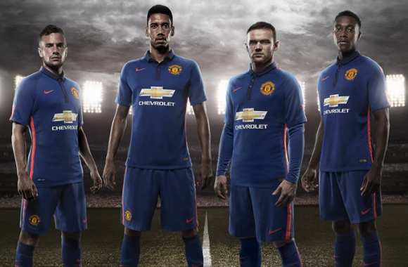 Photo : Le maillot third de United