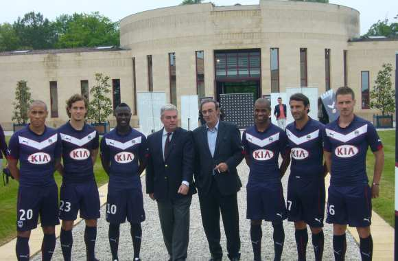 Photo : le maillot viticole bordelais