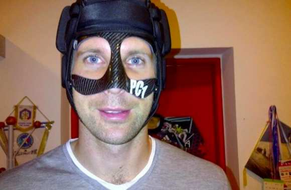 Photo : Le masque de Petr Cech