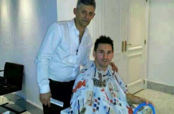 Photo : le nouveau look de Messi