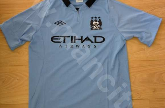 Photo : le nouveau maillot de City