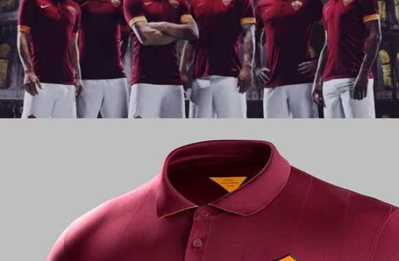 Photo : Le nouveau maillot de la Roma