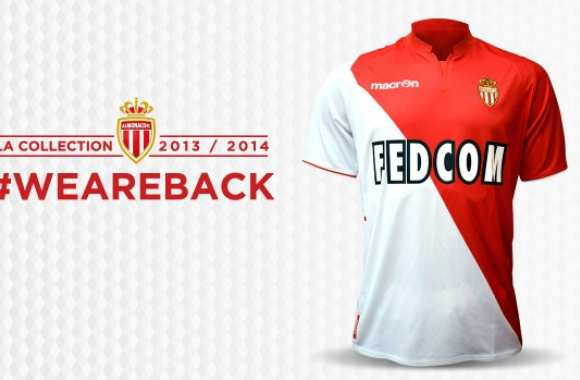 Photo : Le nouveau maillot de Monaco