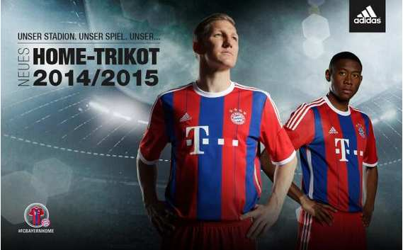 Photo : Le nouveau maillot du Bayern