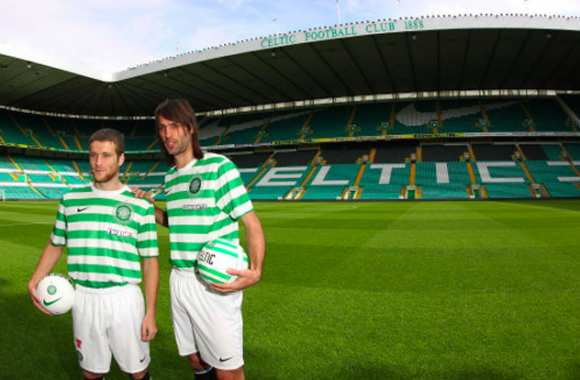 Photo : Le nouveau maillot du Celtic