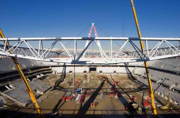 Photo : Le nouveau stade de la Juve