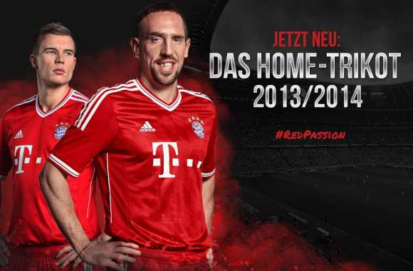 Photo : Le prochain maillot du Bayern