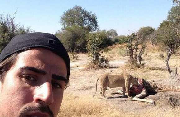 Photo : le safari de Khedira