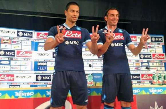 Photo : Le second maillot du Napoli